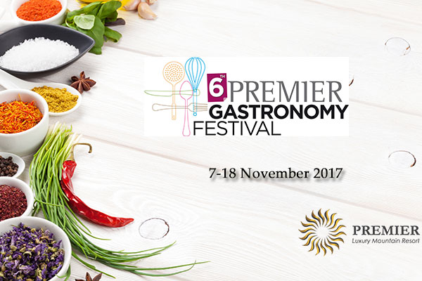 Welcome to the 6th Premier Gastronomy Festival!