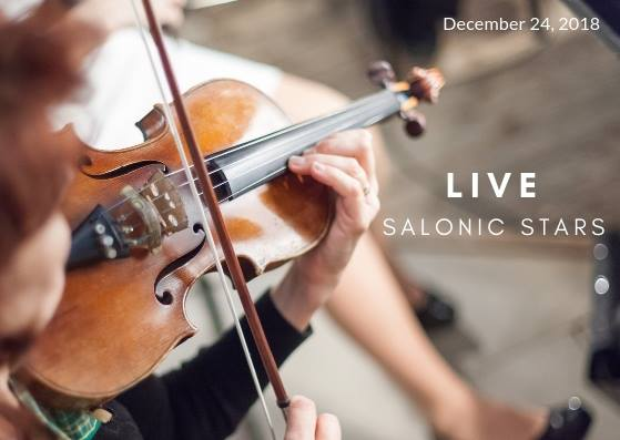 Famous SALONIC STARS LIVE at PREMIER during Festive Season!